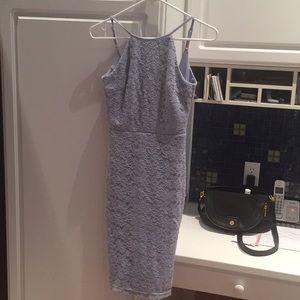 Lulu's Dresses - Lulus lightblue halter dress